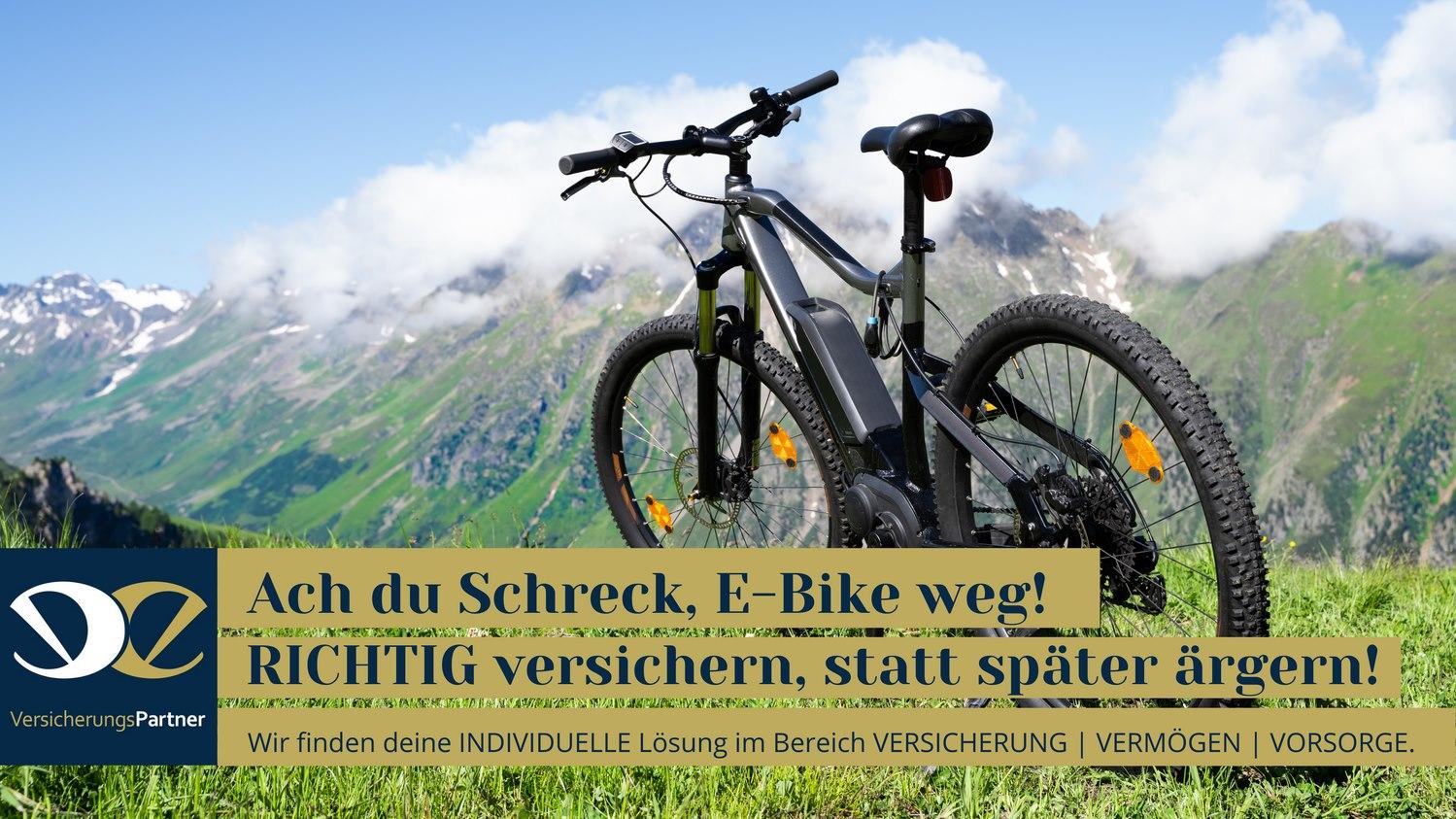 E-Bike Versicherung Berg EE-Versicherungspartner